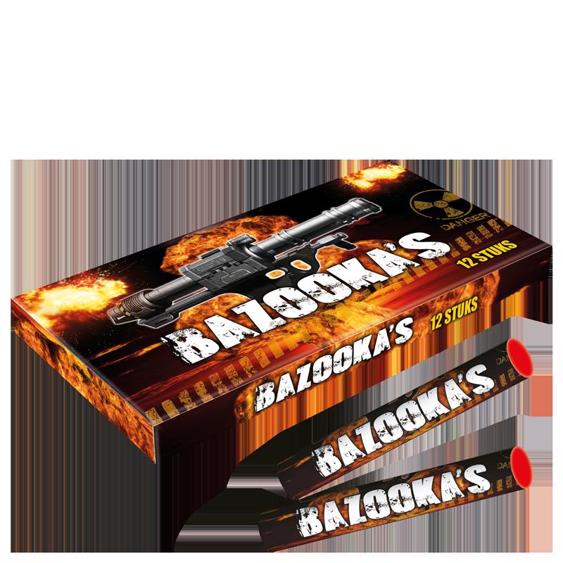 Bazooka's (12 stuks)
