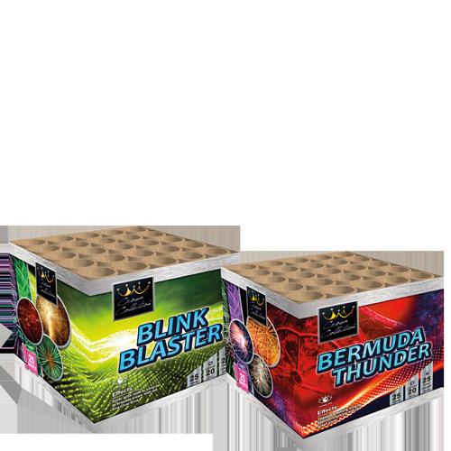 Bermuda Thunder & Blink Blaster (2 halen = 1 betalen)