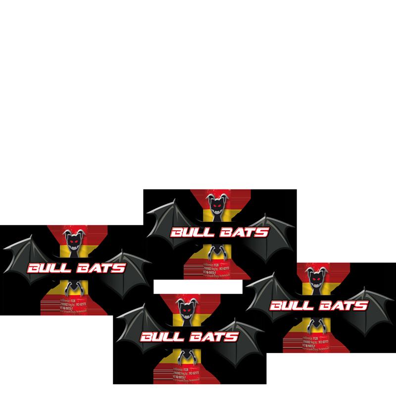 Bull Bats (4 stuks)