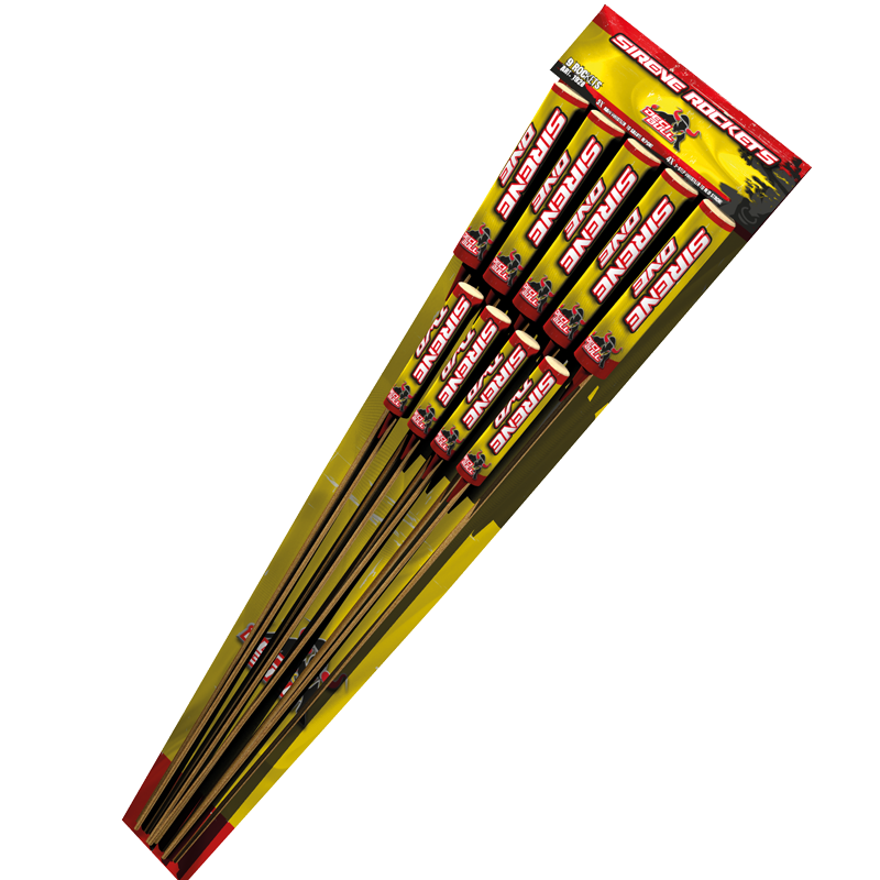 Decibull - Mean Sirene Rockets (9 pijlen)