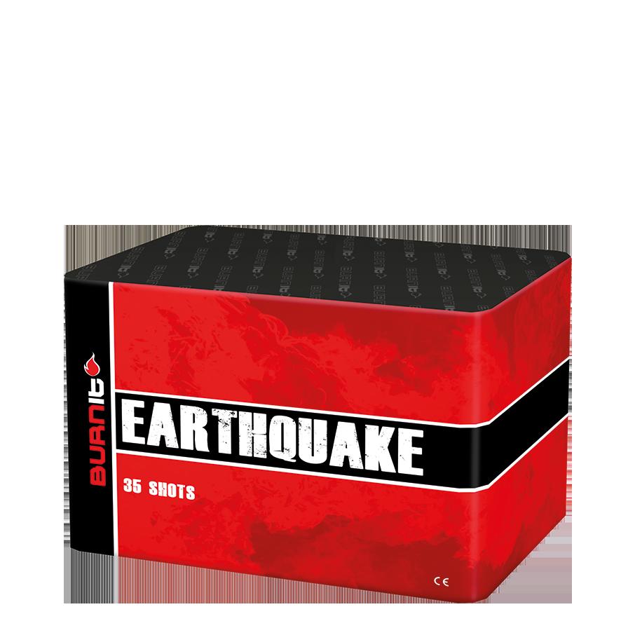 Burn-It - Earthquake (½ kg kruit)