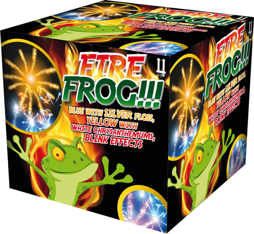 Fire Frog Fontein