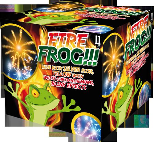Fire Frog Fontein 2