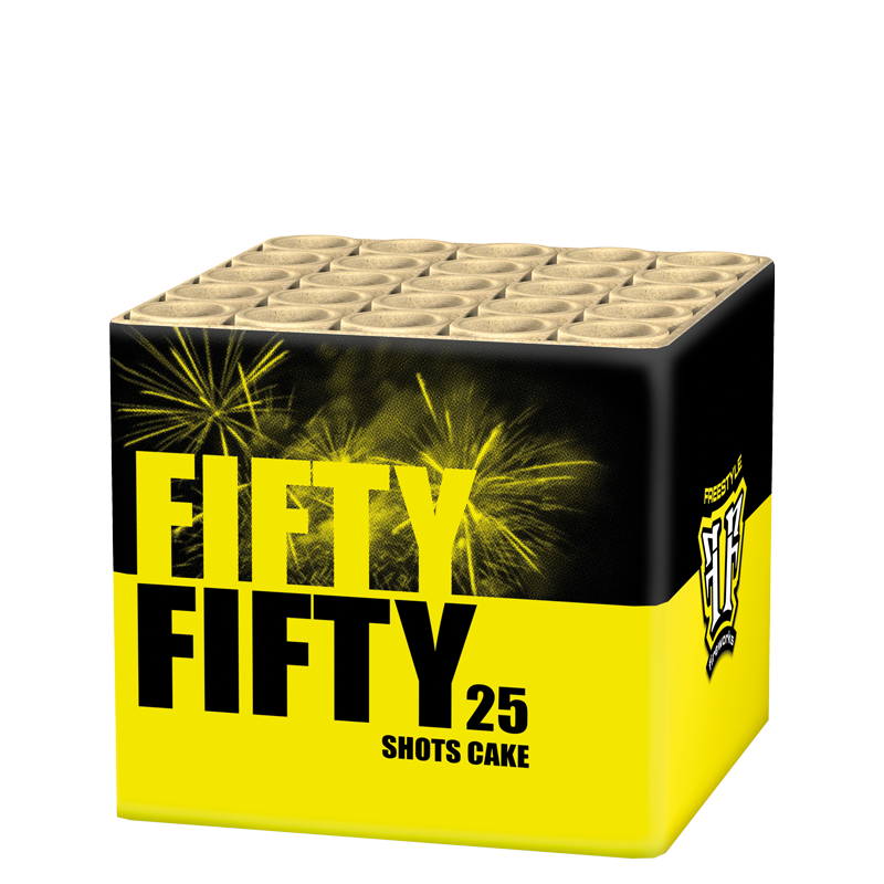 FF - Fifty Fifty (½ kg kruit)