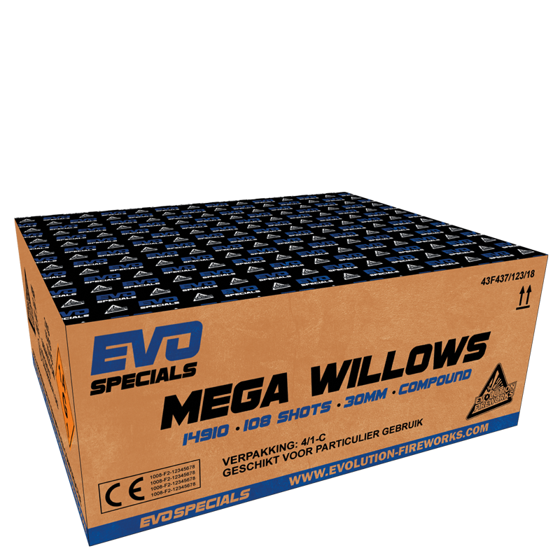 Mega Willows (2 kg kruit)