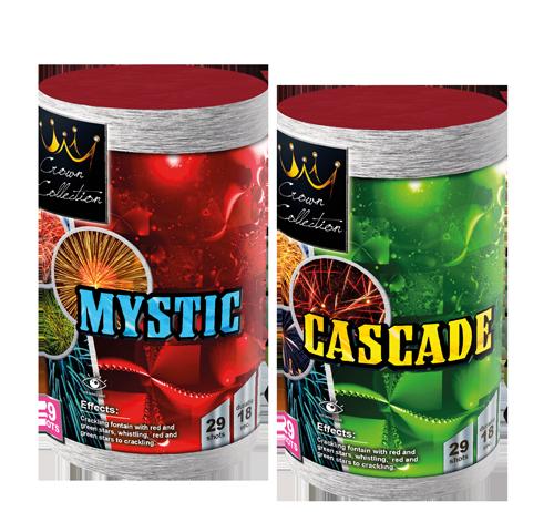 Mystic & Cascade (2 halen = 1 betalen)