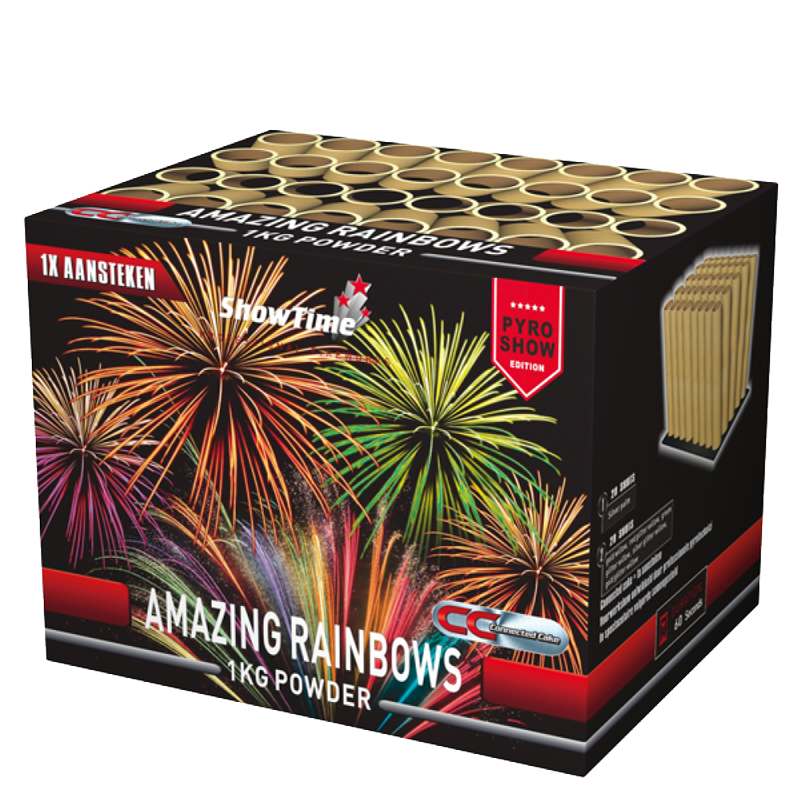 Amazing Rainbows (1 kg kruit) 1