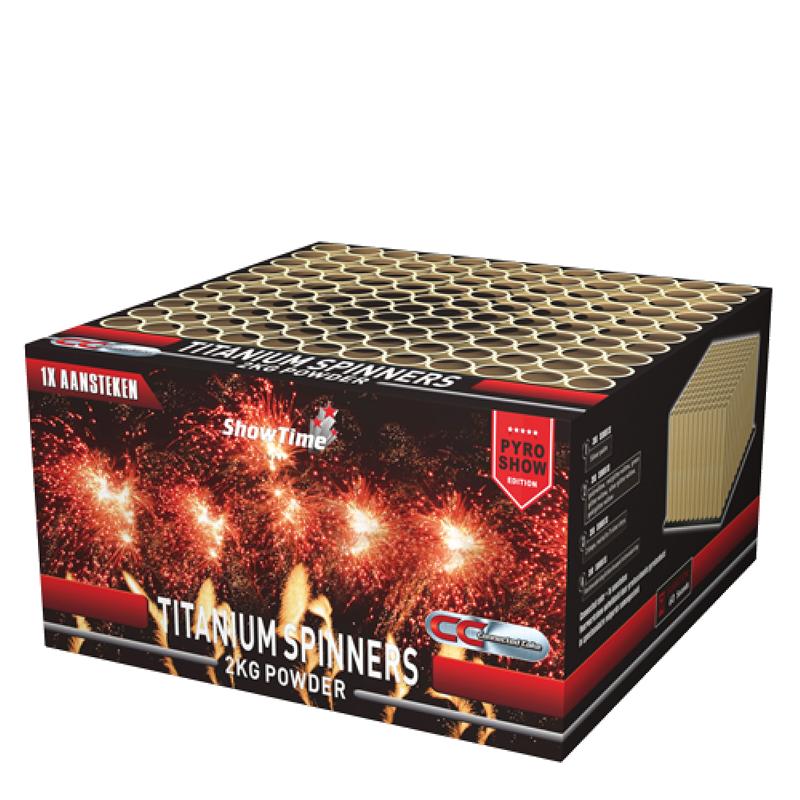Titanium Spinners (2 kg kruit)