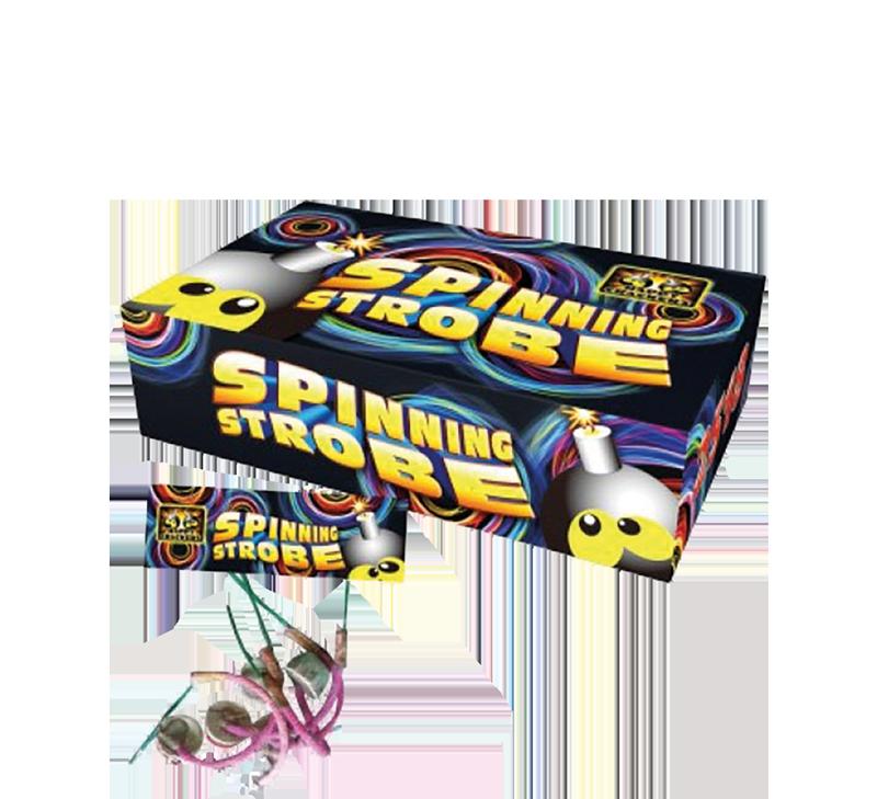 Spinning Strobe (12 stuks) (1+1 gratis)