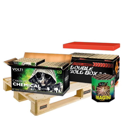 Palletvoordeel 3 - Volt! Chemical Box + HFF Double Gold Box 2.0 + Imagine (2.1 kg kruit)