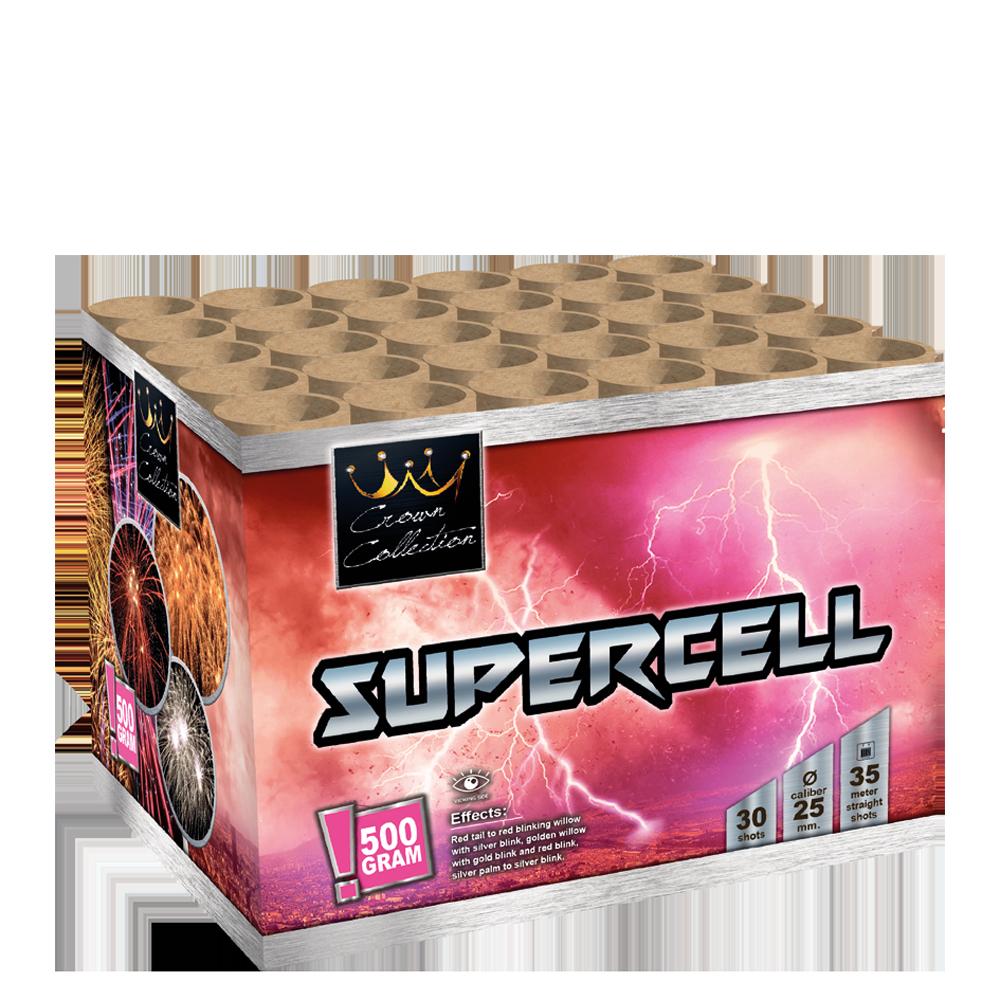 Supercell (½ kg kruit)