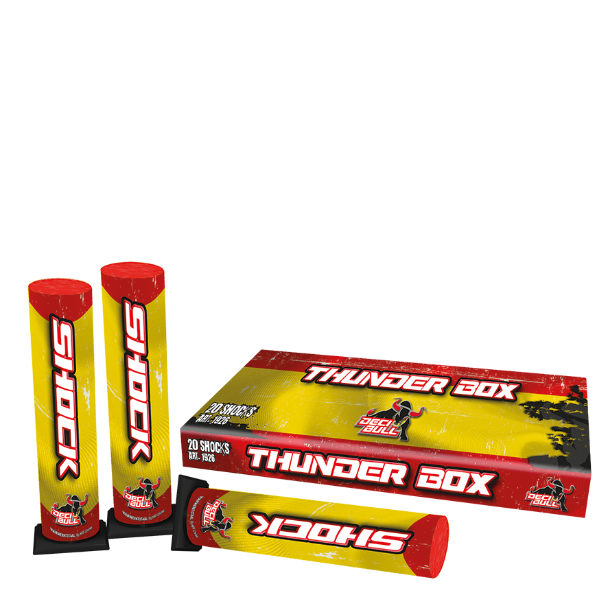 Decibull Thunderbox (20 stuks)