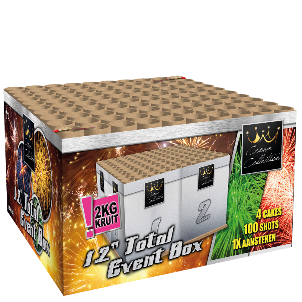 "1.2"" Total Event Box (2 kg kruit)"