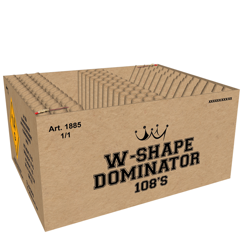 W-Shape Dominator (1½ kg kruit)