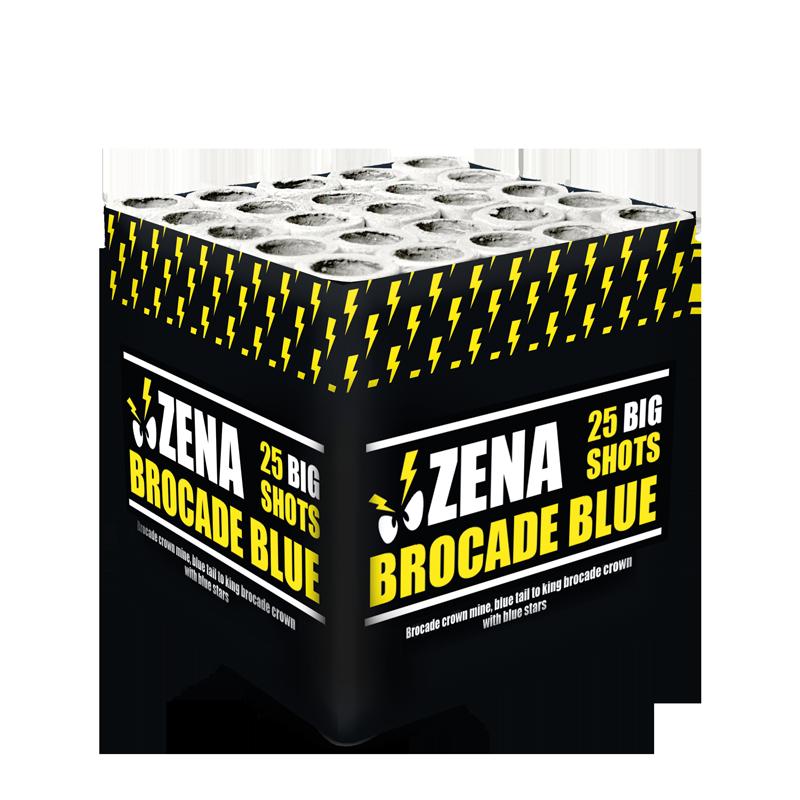 Zena - Brocade Blue