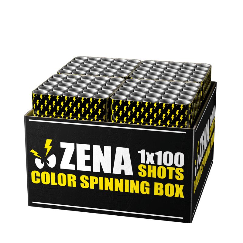 Zena - Color Spinning Box (2 kg kruit)